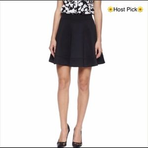 🎉HP🎉 Kate Spade black scuba circle skirt xsmall